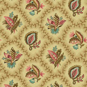 Tissu Andover – 9125 RN beige lemillepatch