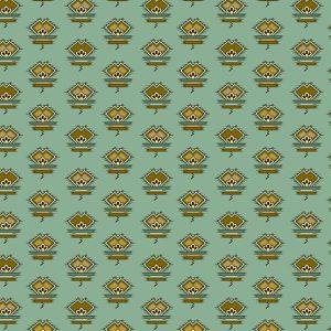 Tissu Andover – 9129 B bleu lemillepatch