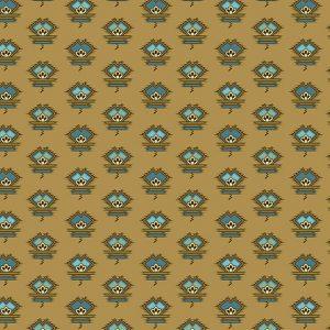 Tissu Andover – 9129 RN vert lemillepatch