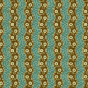 Tissu Andover – 9133 B bleu lemillepatch