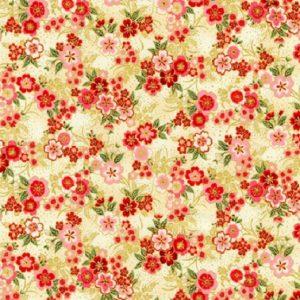 Tissu Kaufman 18625 15 rouge lemillepatch