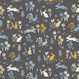 Tissu Makower Fabrics 2163 S gris lemillepatch
