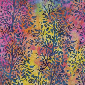 Tissu Island Batik 6 120 rose lemillepatch