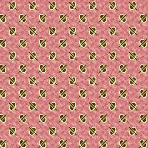 Tissu Andover A 9328 NE rose lemillepatch