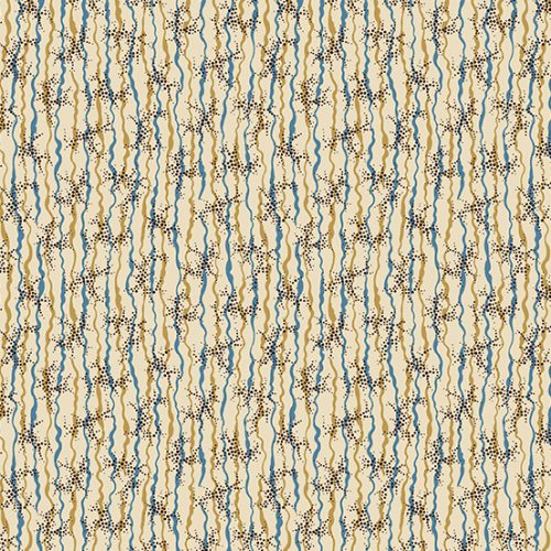 Tissu Andover A 9329 RB bleu lemillepatch