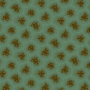 Tissu Andover A 9330 LG vert lemillepatch