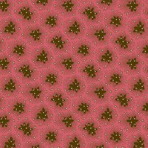 Tissu Andover A 9330 NE rose lemillepatch