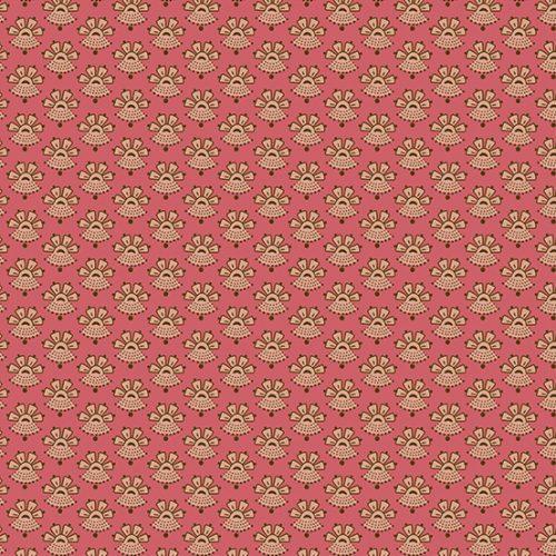 Tissu Andover A 9331 NE rose lemillepatch