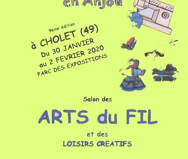 Le Mille Patch Expose au Salon des Arts du Fil de CHOLET