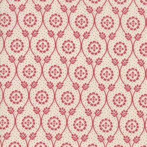 Tissu Moda 13852 12 rouge lemillepatch