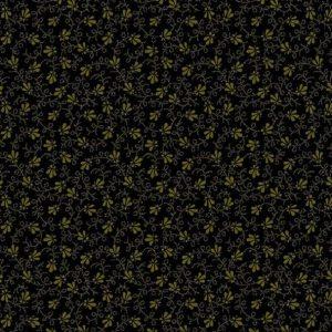 Tissu Andover 9016 K noir lemillepatch