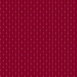 Tissu Andover 9017 R rouge lemillepatch