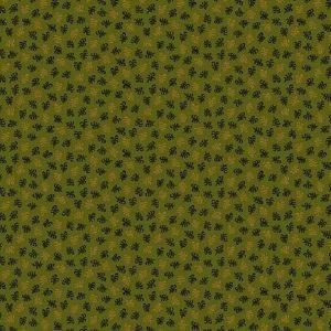 Tissu Andover 9022 G1 vert lemillepatch