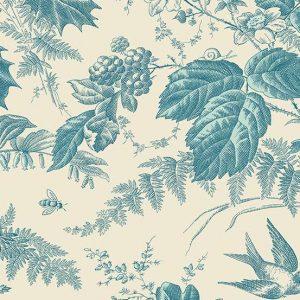 Tissu Andover 9174 BL blanc lemillepatch