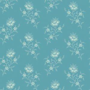 Tissu Andover 9175 BT bleu lemillepatch