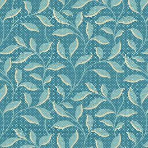 Tissu Andover 9177 B bleu lemillepatch