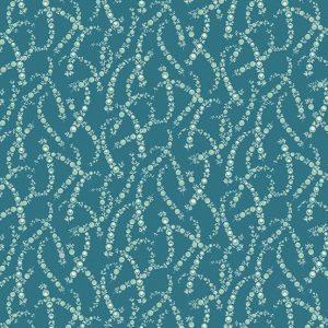 Tissu Andover 9179 B bleu lemillepatch