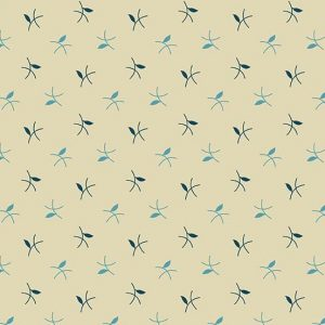 Tissu Andover 9184 BL blanc lemillepatch