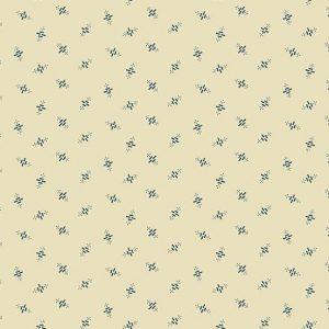 Tissu Andover 9185 BL blanc lemillepatch