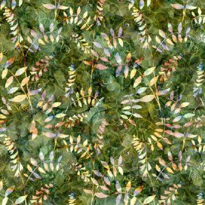 Tissu QT Fabrics 27414 G vert lemillepatch