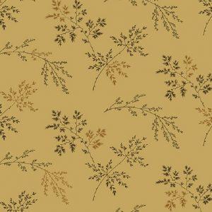 Tissu Makower A 9454 LN beige lemillepatch