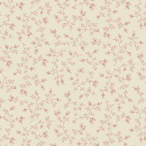 Tissu Makower A 9457 L rose lemillepatch