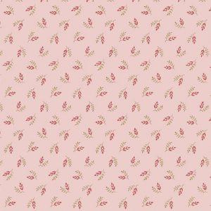Tissu Makower A 9458 E rose lemillepatch