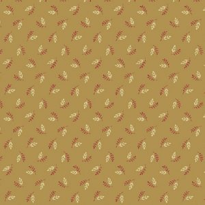 Tissu Makower A 9458 LN beige lemillepatch