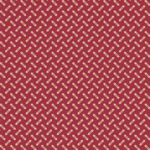 Tissu Makower A 9459 E bordeaux lemillepatch