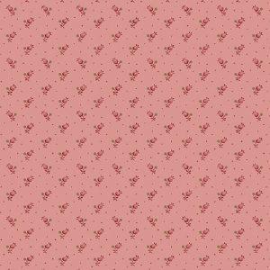Tissu Makower A 9460 E rose lemillepatch