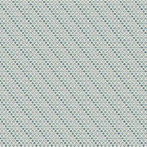 Tissu Makower A 9463 B bleu lemillepatch