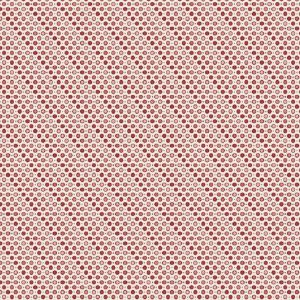 Tissu Makower A 9463 E rose lemillepatch
