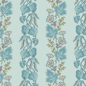 Tissu Makower A 9447 B bleu lemillepatch