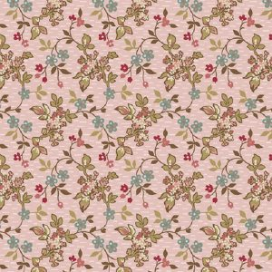 Tissu Makower A 9448 E rose lemillepatch