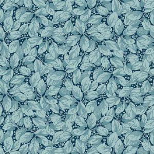 Tissu Makower A 9450 B bleu lemillepatch