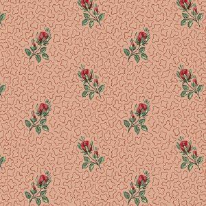 Tissu Andover A 9526 R rose lemillepatch