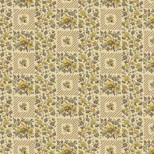 Tissu Andover A 9527 N jaune lemillepatch