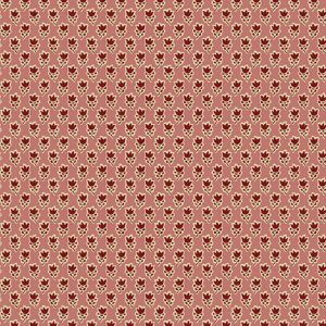 Tissu Andover A 9528 R rose lemillepatch