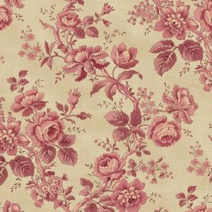 Tissu Washington Street Studio 4052 P rose lemillepatch