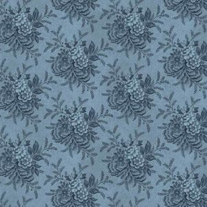 Tissu Washington Street Studio 4053 B bleu lemillepatch