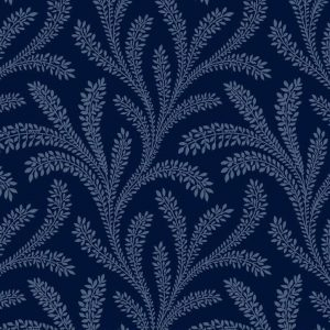 Tissu Washington Street Studio 4054 B bleu lemillepatch