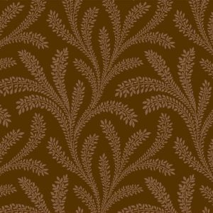 Tissu Washington Street Studio 4054 Z marron lemillepatch