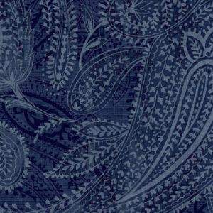 Tissu Windham 50663 8 bleu lemillepatch