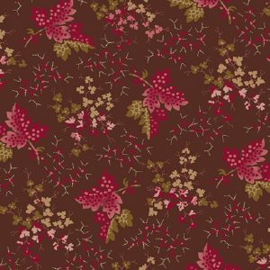 Tissu Andover A 9522 R marron lemillepatch