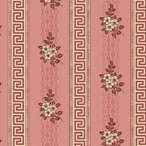 Tissu Andover A 9523 R rose lemillepatch