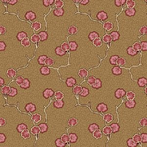Tissu Andover A 9524 NR rose lemillepatch