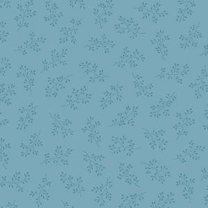 Tissu Andover A 8511 B2 bleu lemillepatch