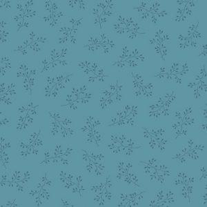 Tissu Andover A 8511 B3 bleu lemillepatch