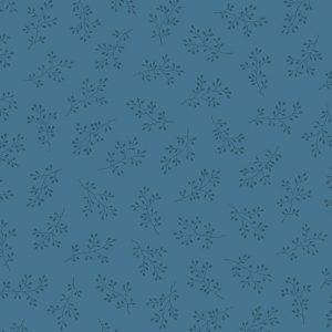 Tissu Andover A 8511 B4 bleu lemillepatch