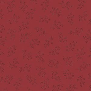Tissu Andover A 8511 R1 rouge lemillepatch